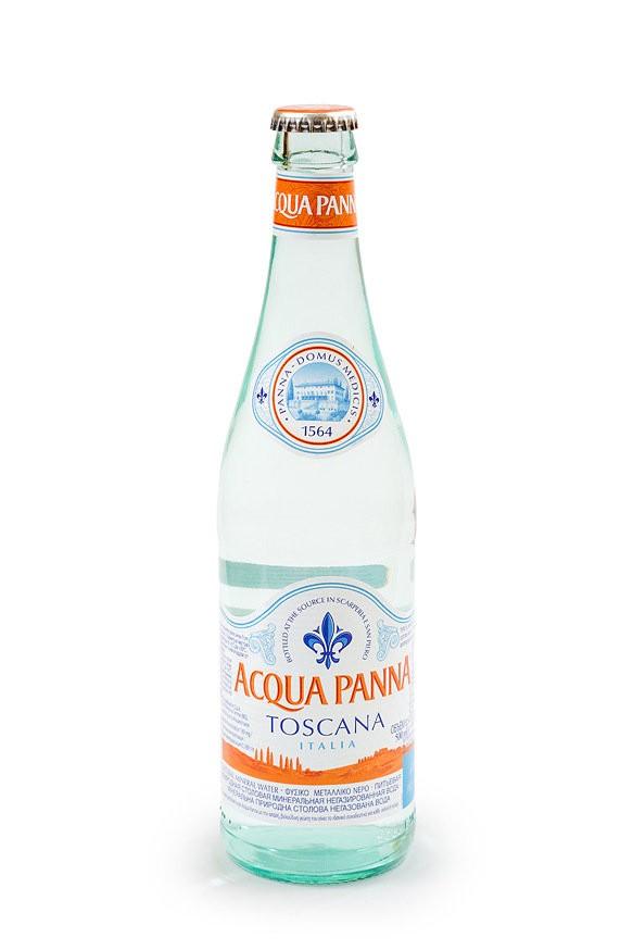 Минеральная вода негазированная Acqua Panna 0,5
