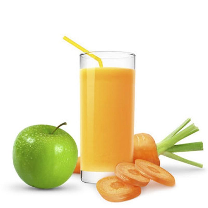 Морковно — яблочный сок