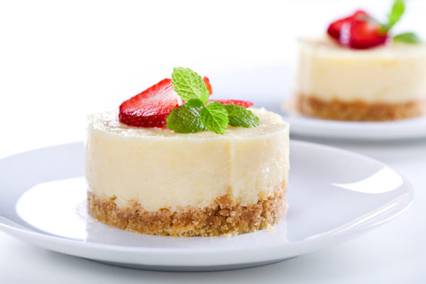 Cheesecake Close Up